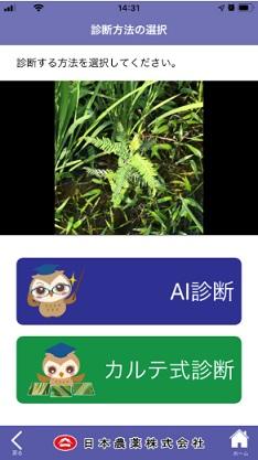 レイミーのAI病害虫雑草診断アプリ使い方⑥
